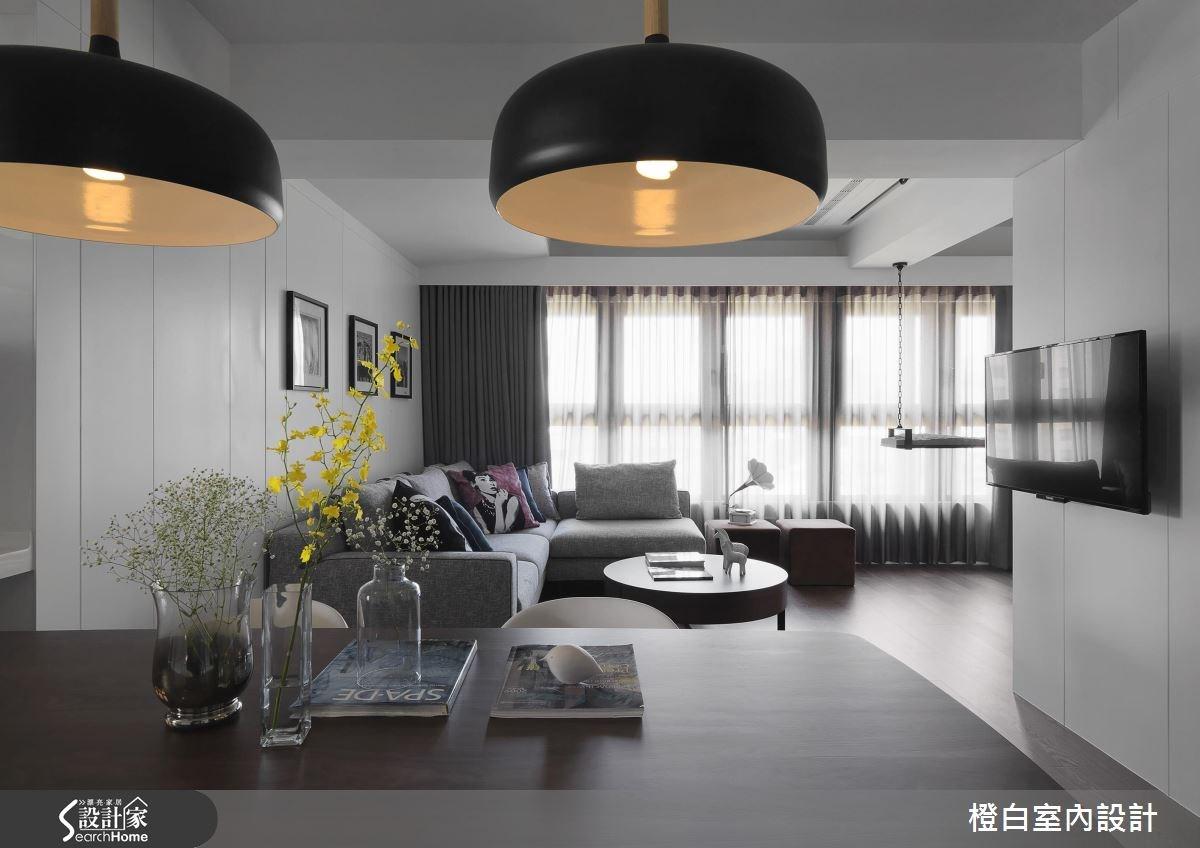 24坪新成屋(5年以下)_簡約風案例圖片_橙白室內裝修設計工程有限公司_橙白_52之3