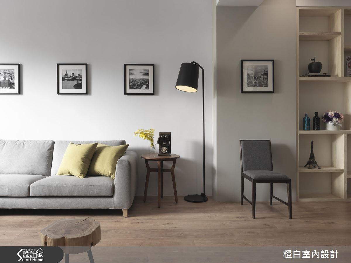 76坪老屋(16~30年)_混搭風客廳案例圖片_橙白室內裝修設計工程有限公司_橙白_55之3