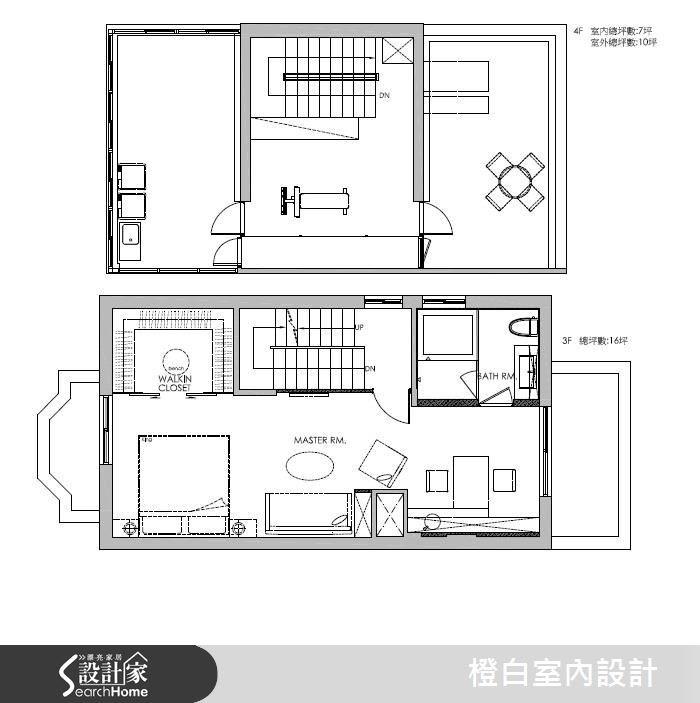 76坪老屋(16~30年)_混搭風案例圖片_橙白室內裝修設計工程有限公司_橙白_55之36