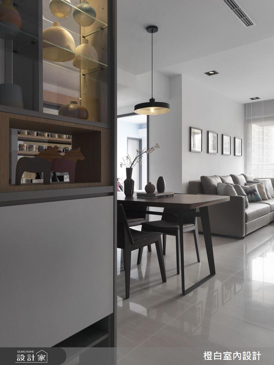 27坪新成屋(5年以下)_北歐風玄關餐廳案例圖片_橙白室內裝修設計工程有限公司_橙白_57之2