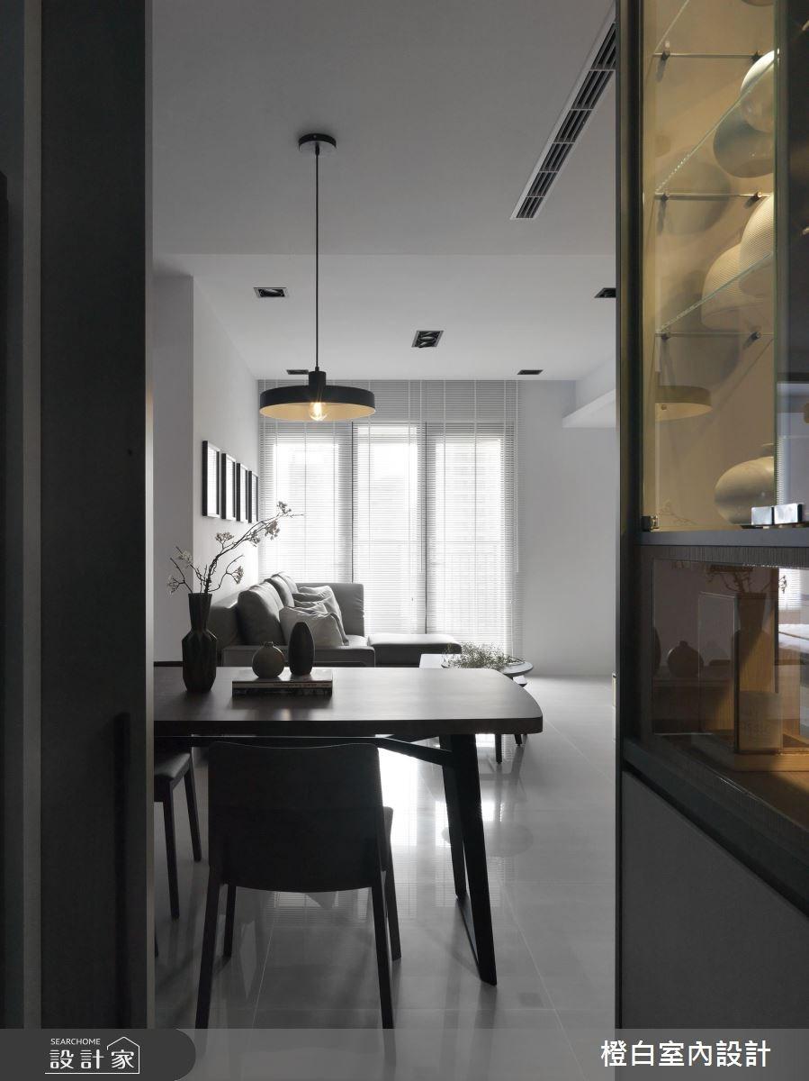 27坪新成屋(5年以下)_北歐風玄關餐廳案例圖片_橙白室內裝修設計工程有限公司_橙白_57之3