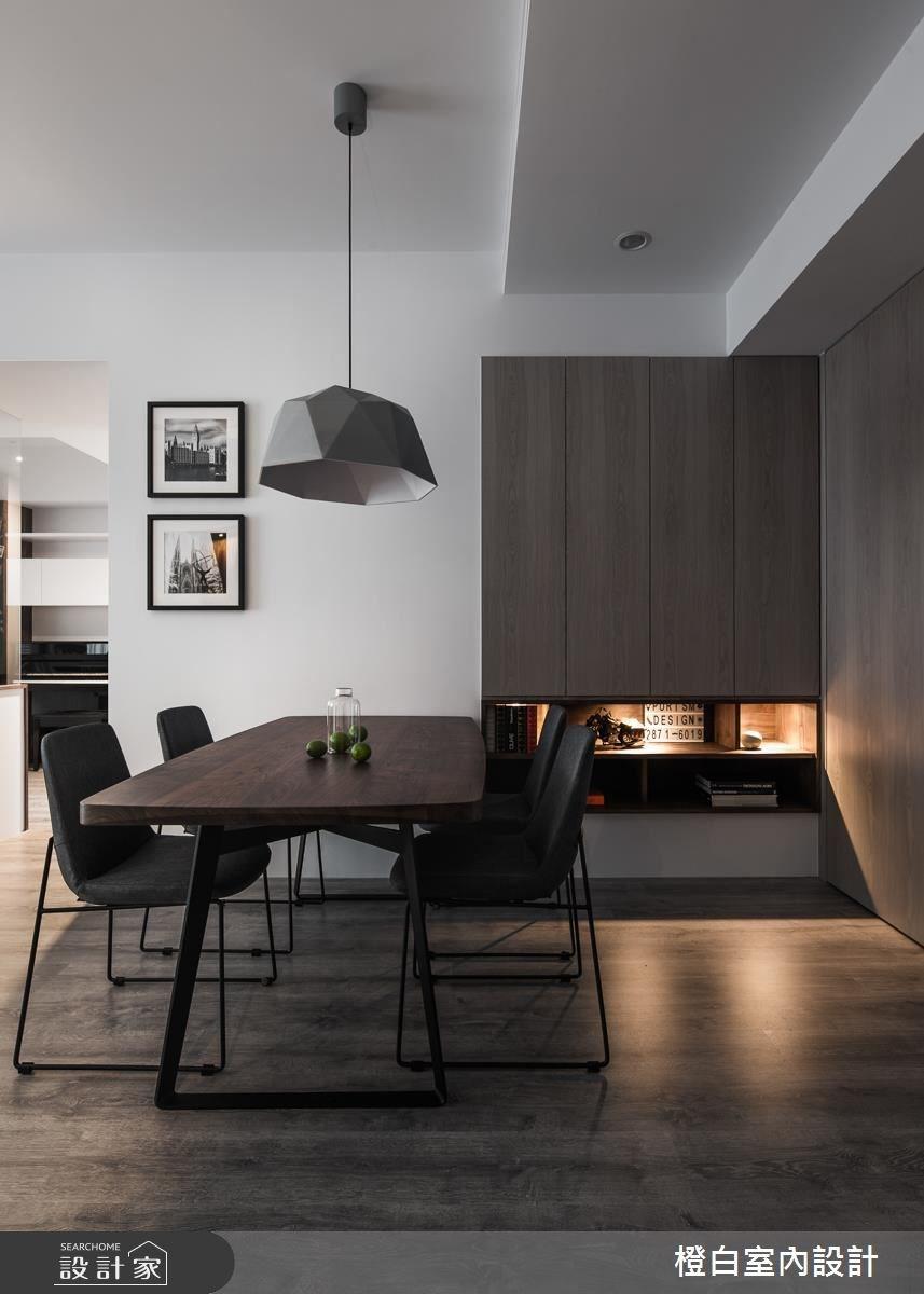 28坪新成屋(5年以下)_現代風餐廳案例圖片_橙白室內裝修設計工程有限公司_橙白_59之2