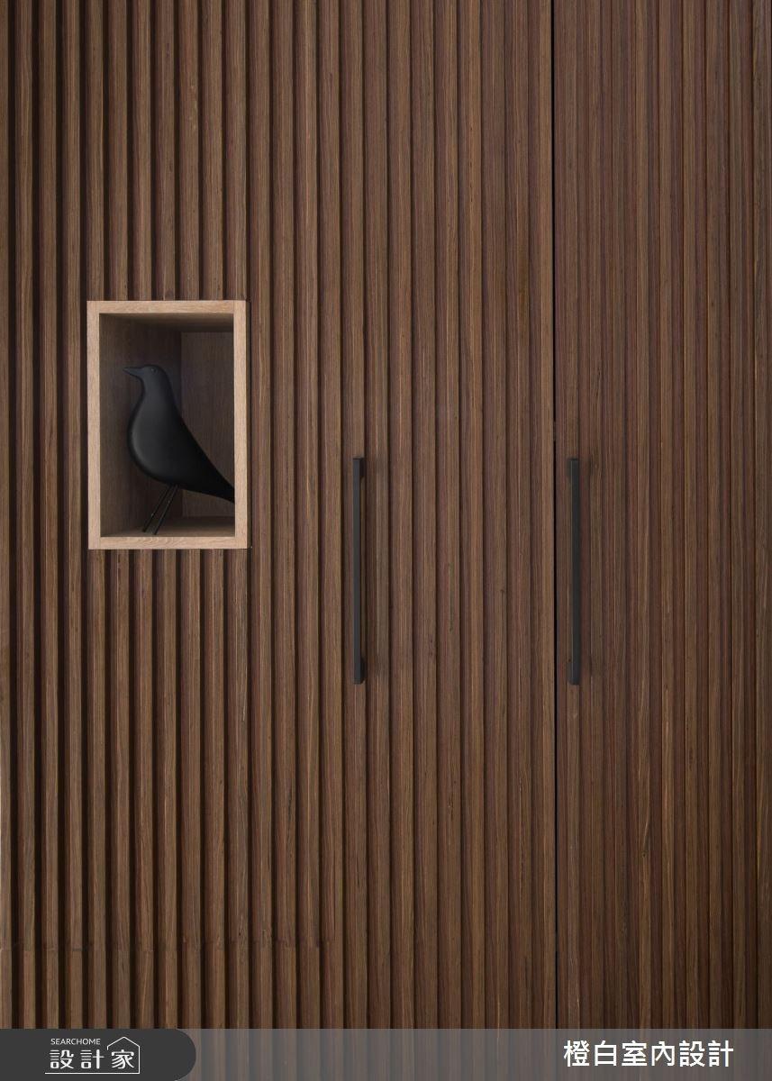 50坪新成屋(5年以下)_現代風玄關案例圖片_橙白室內裝修設計工程有限公司_橙白_61之2