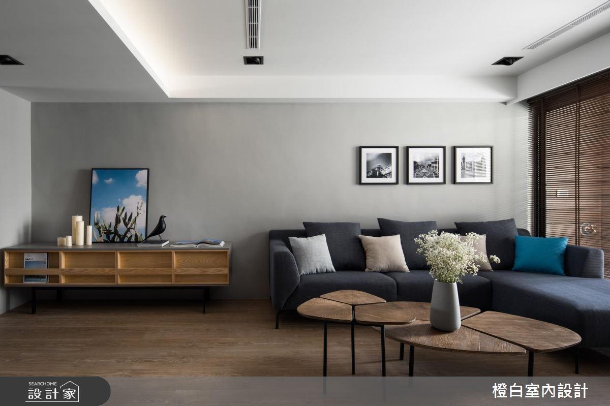 30坪老屋(16~30年)_現代風客廳案例圖片_橙白室內裝修設計工程有限公司_橙白_64之2