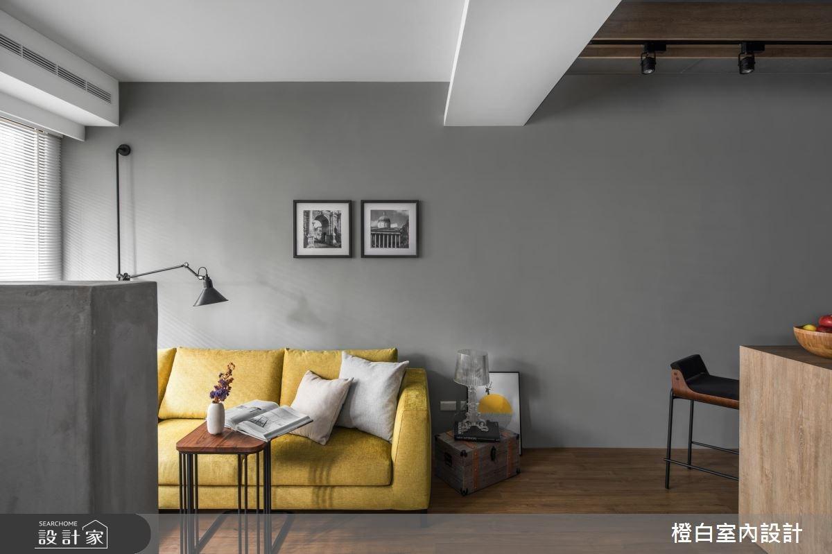 14坪老屋(16~30年)_現代風客廳案例圖片_橙白室內裝修設計工程有限公司_橙白_65之7