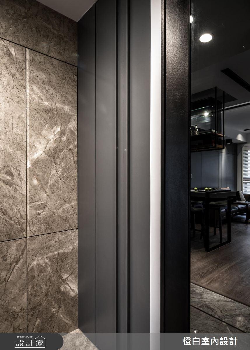 17坪新成屋(5年以下)_現代風玄關案例圖片_橙白室內裝修設計工程有限公司_橙白_66之2