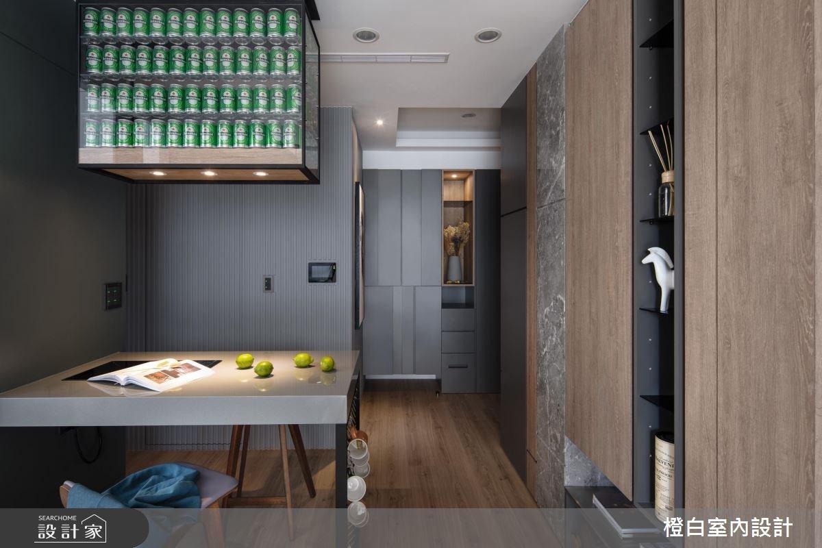 15坪新成屋(5年以下)_現代風餐廳案例圖片_橙白室內裝修設計工程有限公司_橙白_67之3