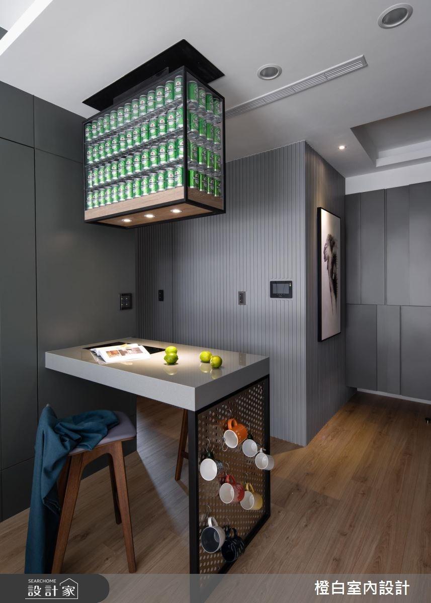15坪新成屋(5年以下)_現代風餐廳案例圖片_橙白室內裝修設計工程有限公司_橙白_67之12