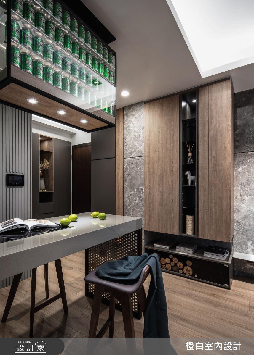 15坪新成屋(5年以下)_現代風餐廳案例圖片_橙白室內裝修設計工程有限公司_橙白_67之16