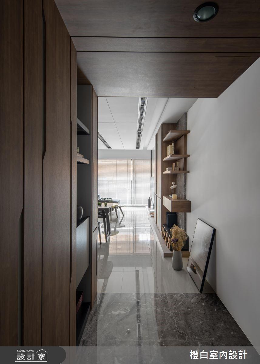 33坪新成屋(5年以下)_現代風玄關案例圖片_橙白室內裝修設計工程有限公司_橙白_68之3