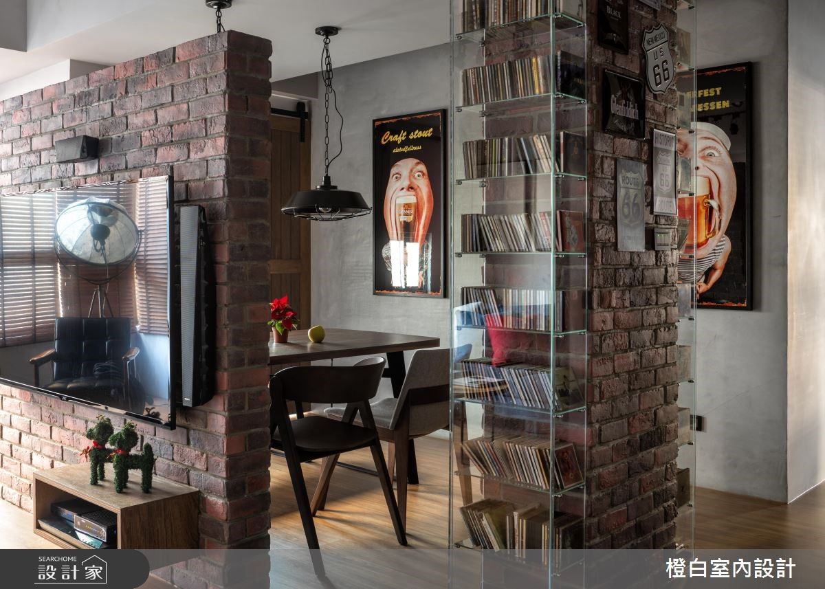 30坪中古屋(5~15年)_混搭風餐廳案例圖片_橙白室內裝修設計工程有限公司_橙白_69之2