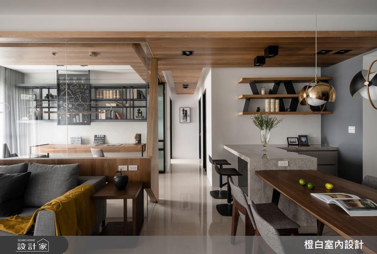 45坪新成屋(5年以下)_混搭風案例圖片_橙白室內裝修設計工程有限公司_橙白_70之11