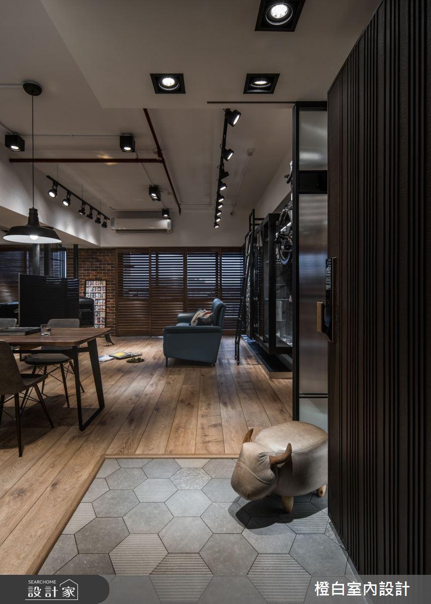 36坪新成屋(5年以下)_混搭風案例圖片_橙白室內裝修設計工程有限公司_橙白_78之2