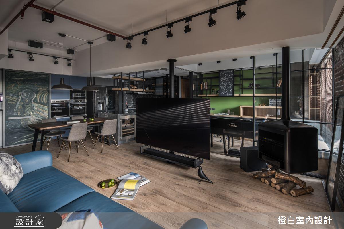 36坪新成屋(5年以下)_混搭風案例圖片_橙白室內裝修設計工程有限公司_橙白_78之4