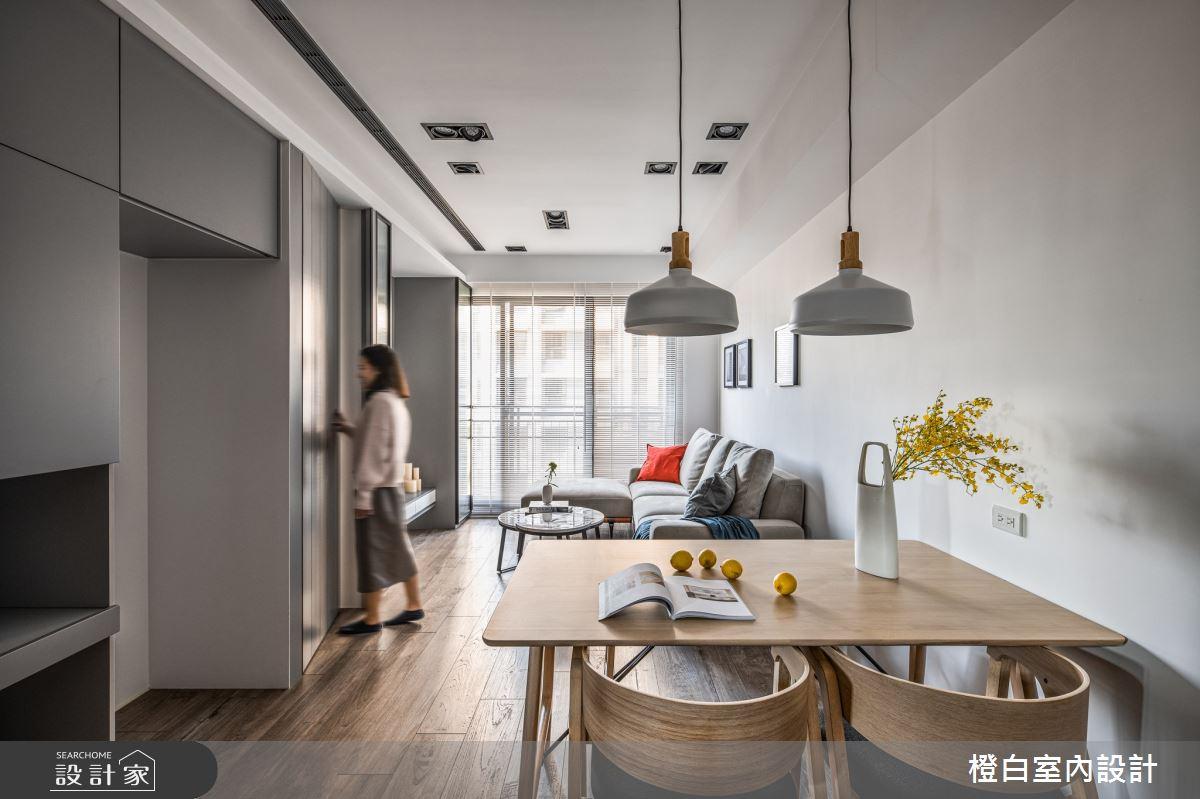 18坪新成屋(5年以下)_混搭風餐廳案例圖片_橙白室內裝修設計工程有限公司_橙白_81之4