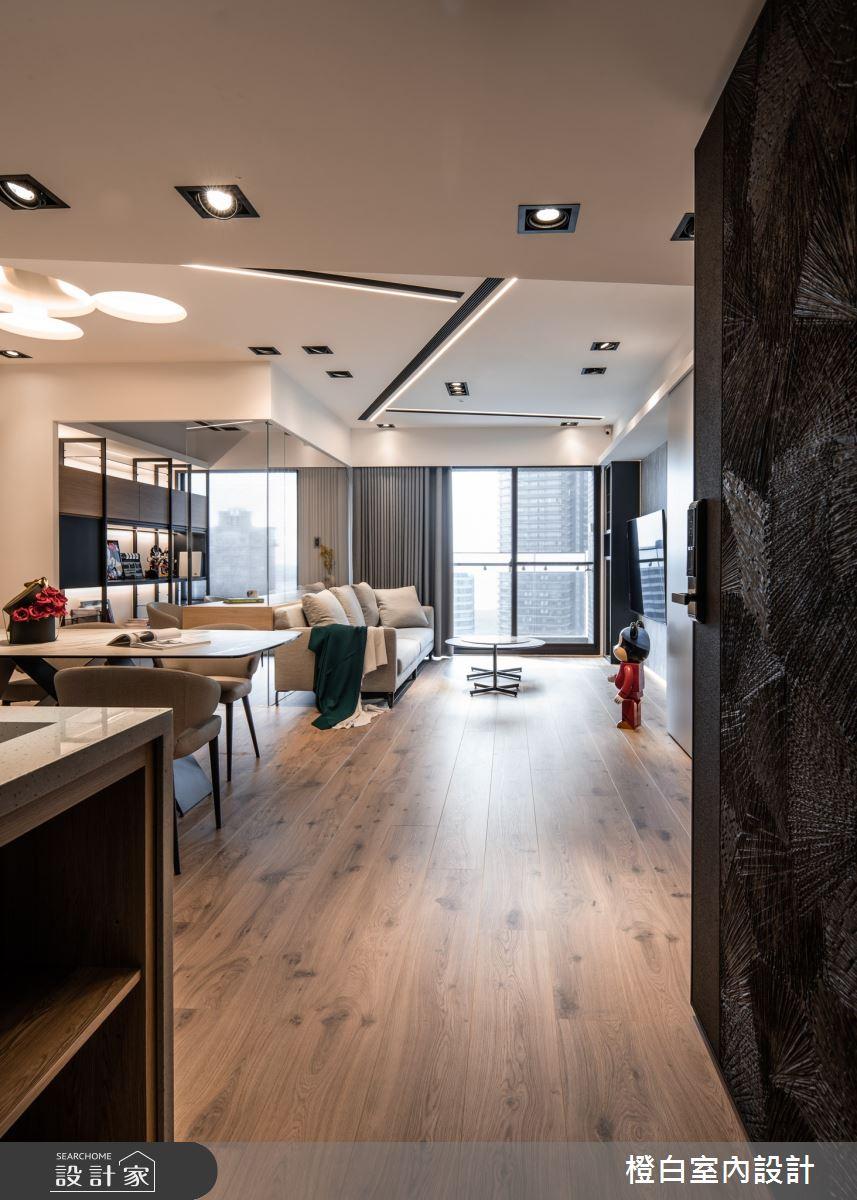 34坪新成屋(5年以下)_混搭風案例圖片_橙白室內裝修設計工程有限公司_橙白_83之2