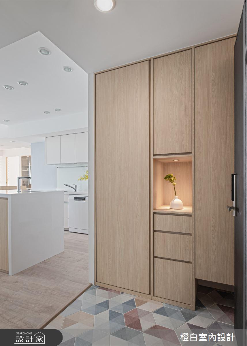 25坪新成屋(5年以下)_混搭風案例圖片_橙白室內裝修設計工程有限公司_橙白_84之1