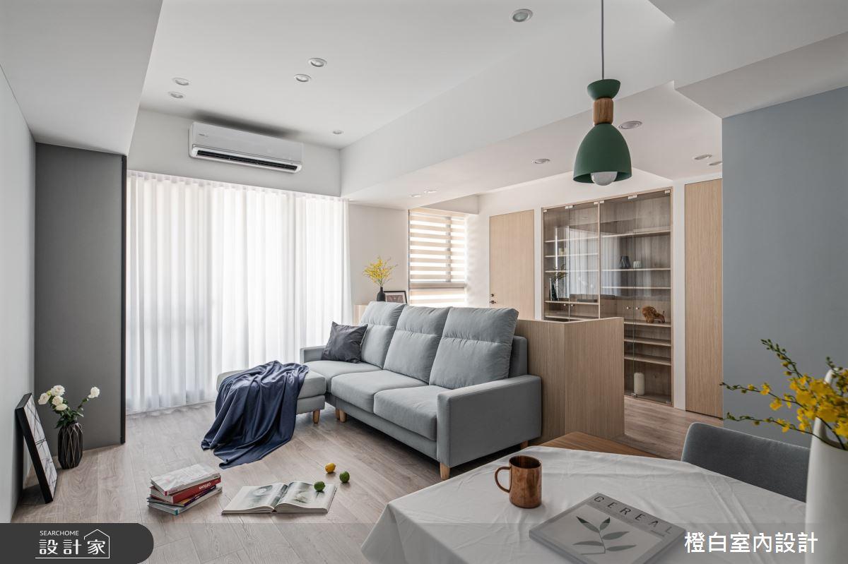 25坪新成屋(5年以下)_混搭風案例圖片_橙白室內裝修設計工程有限公司_橙白_84之3
