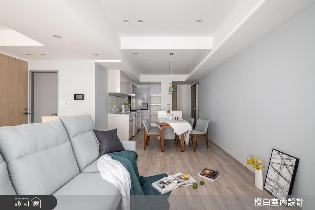 25坪新成屋(5年以下)_混搭風案例圖片_橙白室內裝修設計工程有限公司_橙白_84之5