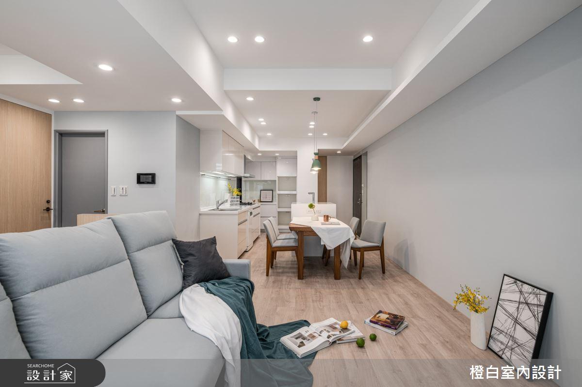 25坪新成屋(5年以下)_混搭風案例圖片_橙白室內裝修設計工程有限公司_橙白_84之6