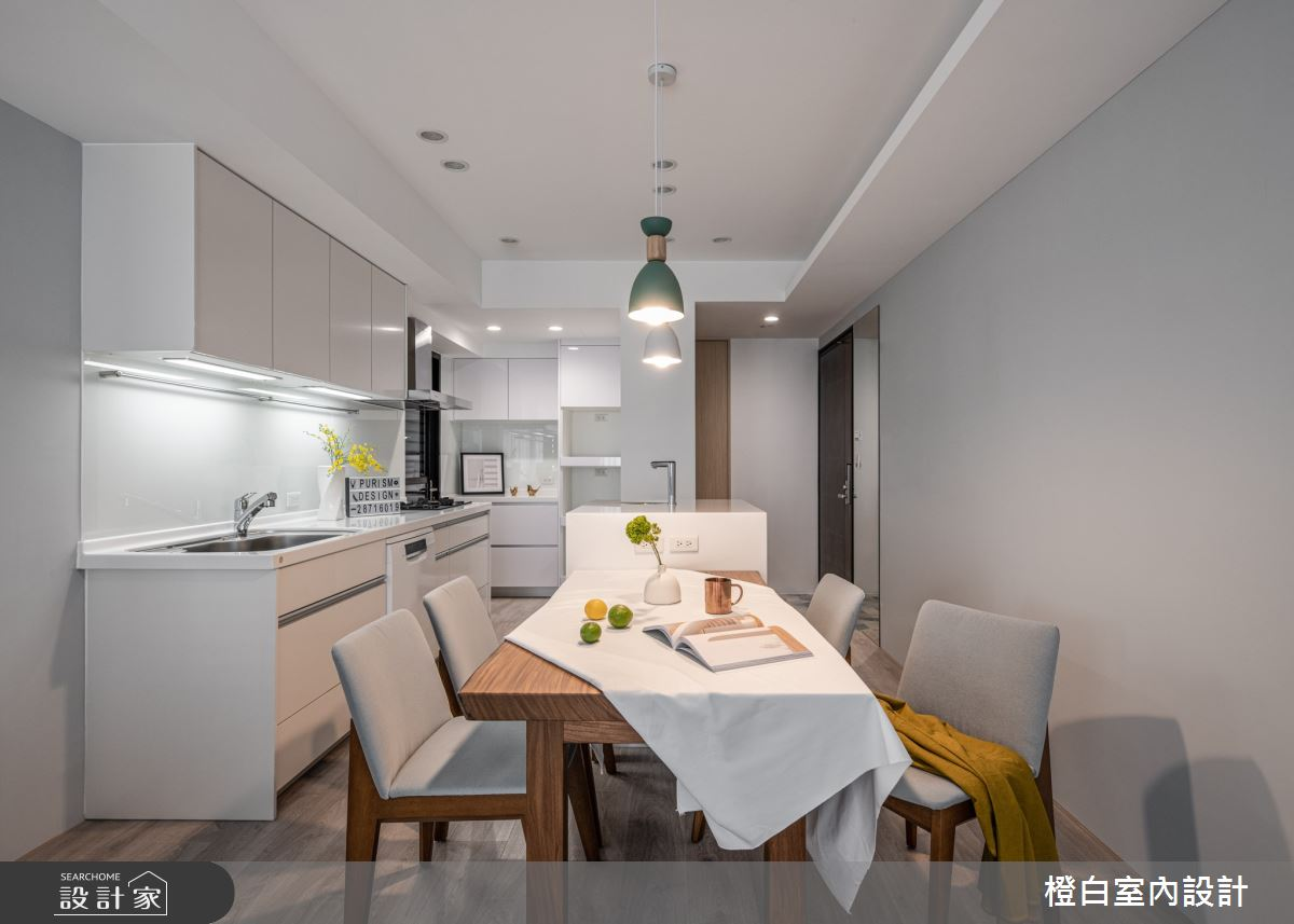 25坪新成屋(5年以下)_混搭風案例圖片_橙白室內裝修設計工程有限公司_橙白_84之7