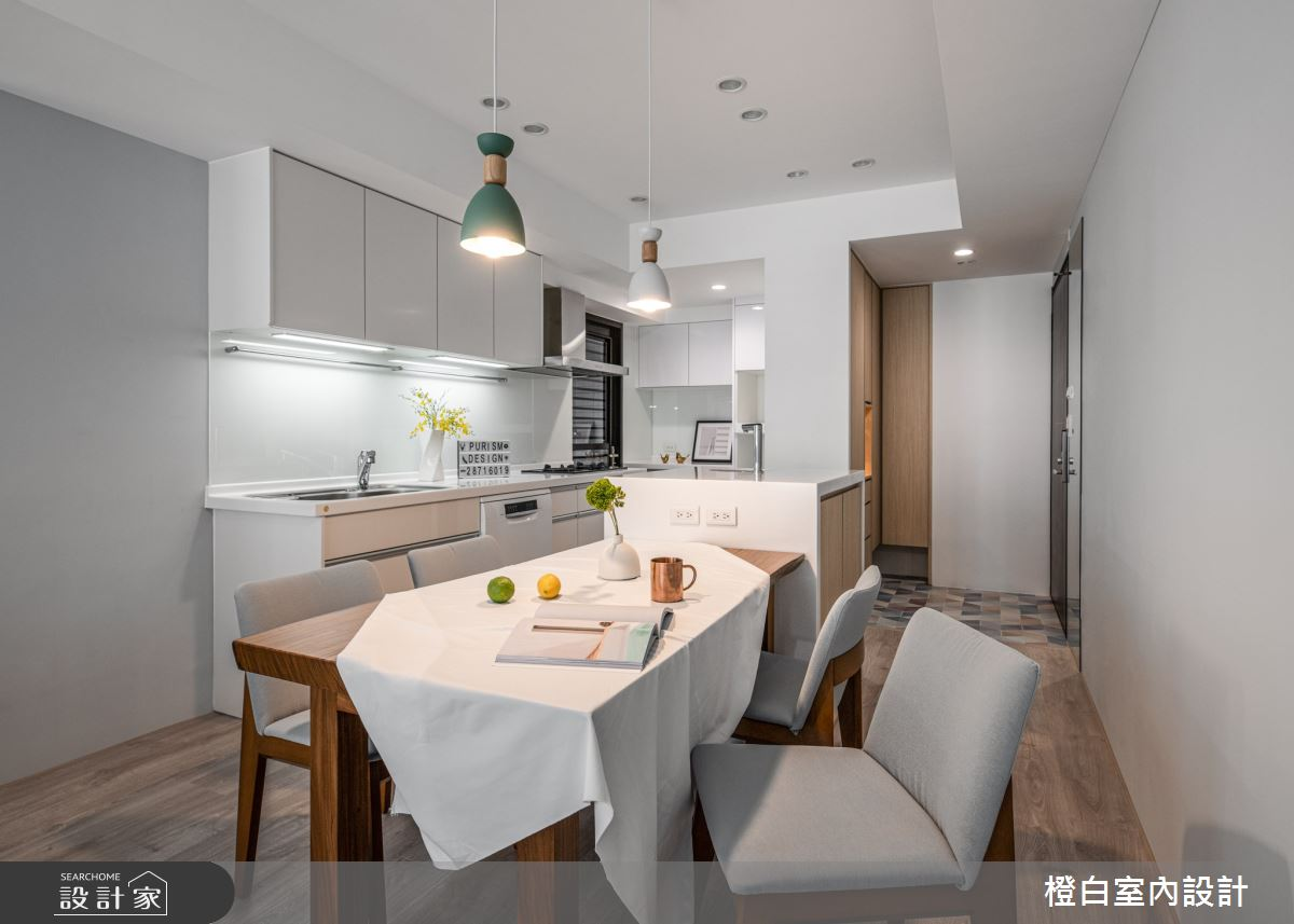 25坪新成屋(5年以下)_混搭風案例圖片_橙白室內裝修設計工程有限公司_橙白_84之8
