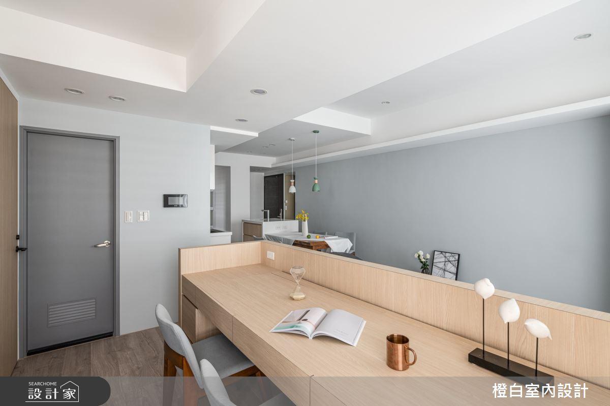 25坪新成屋(5年以下)_混搭風案例圖片_橙白室內裝修設計工程有限公司_橙白_84之12