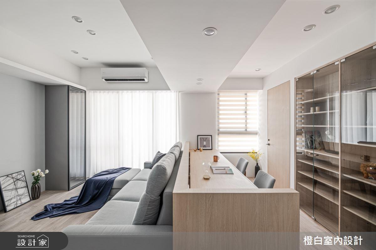 25坪新成屋(5年以下)_混搭風案例圖片_橙白室內裝修設計工程有限公司_橙白_84之9