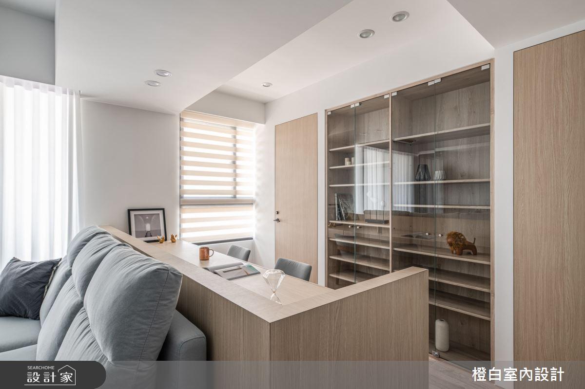 25坪新成屋(5年以下)_混搭風案例圖片_橙白室內裝修設計工程有限公司_橙白_84之10