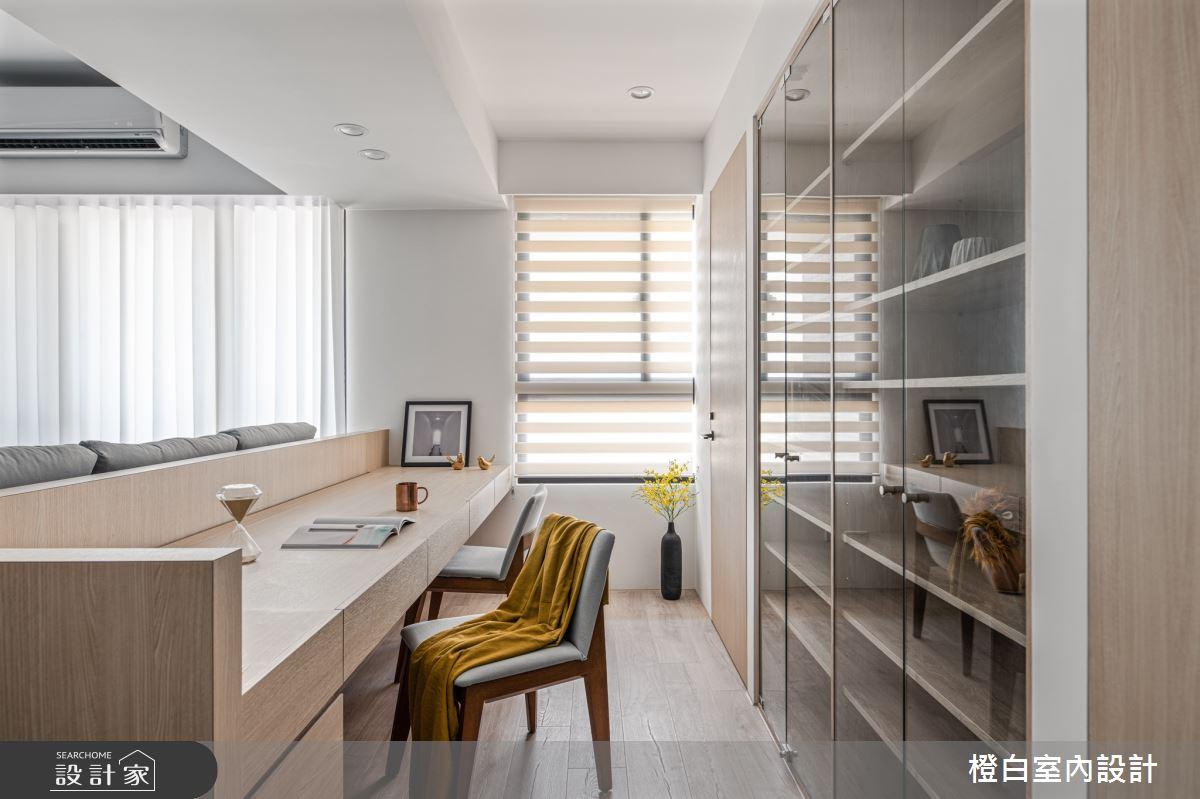 25坪新成屋(5年以下)_混搭風案例圖片_橙白室內裝修設計工程有限公司_橙白_84之11