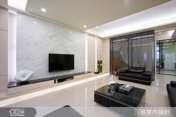 100坪新成屋(5年以下)_現代風案例圖片_三築室內設計_三築_01之1