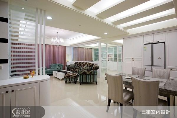40坪新成屋(5年以下)_新古典案例圖片_三築室內設計_三築_03之2