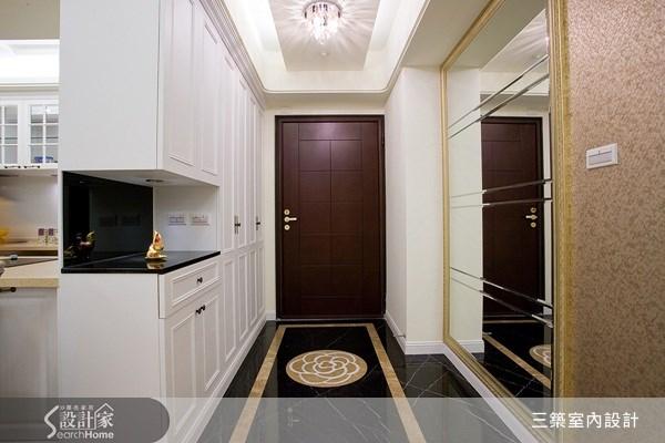 40坪新成屋(5年以下)_新古典案例圖片_三築室內設計_三築_03之1