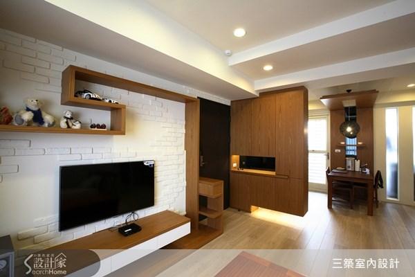 25坪新成屋(5年以下)_簡約風案例圖片_三築室內設計_三築_05之2