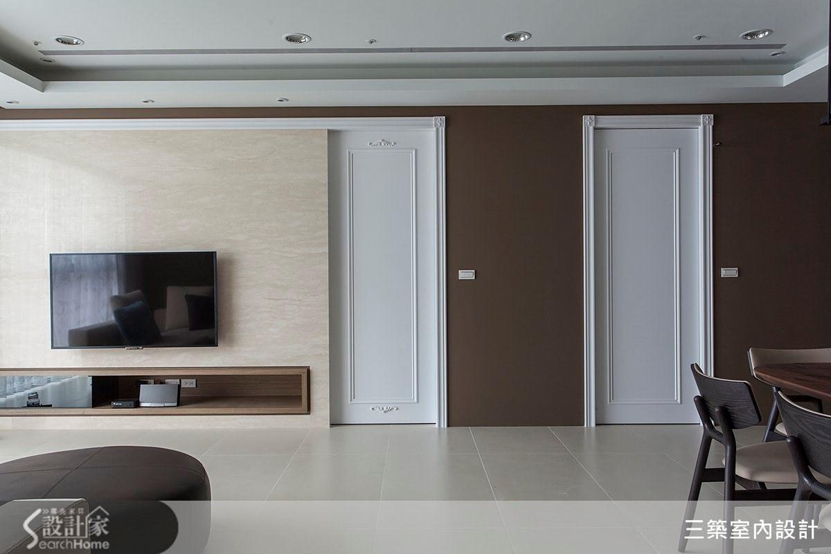 45坪新成屋(5年以下)_新古典案例圖片_三築室內設計_三築_07之2