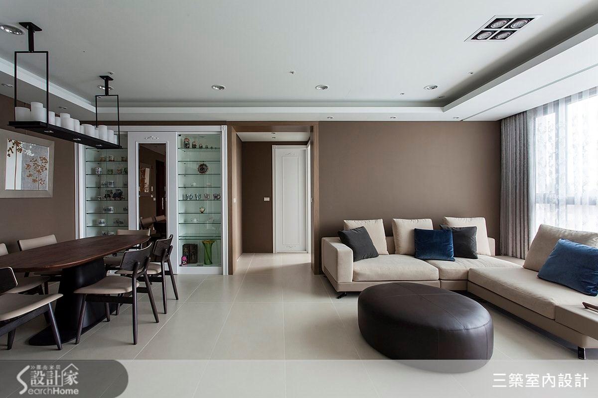 45坪新成屋(5年以下)_新古典案例圖片_三築室內設計_三築_07之3