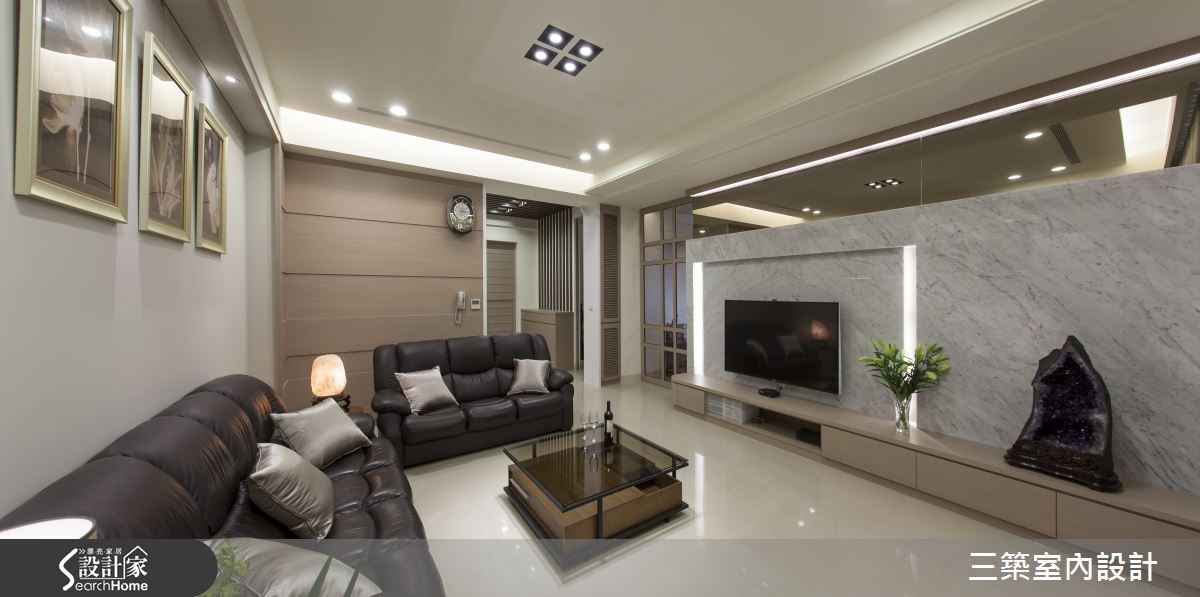 80坪新成屋(5年以下)_混搭風案例圖片_三築室內設計_三築_14之4