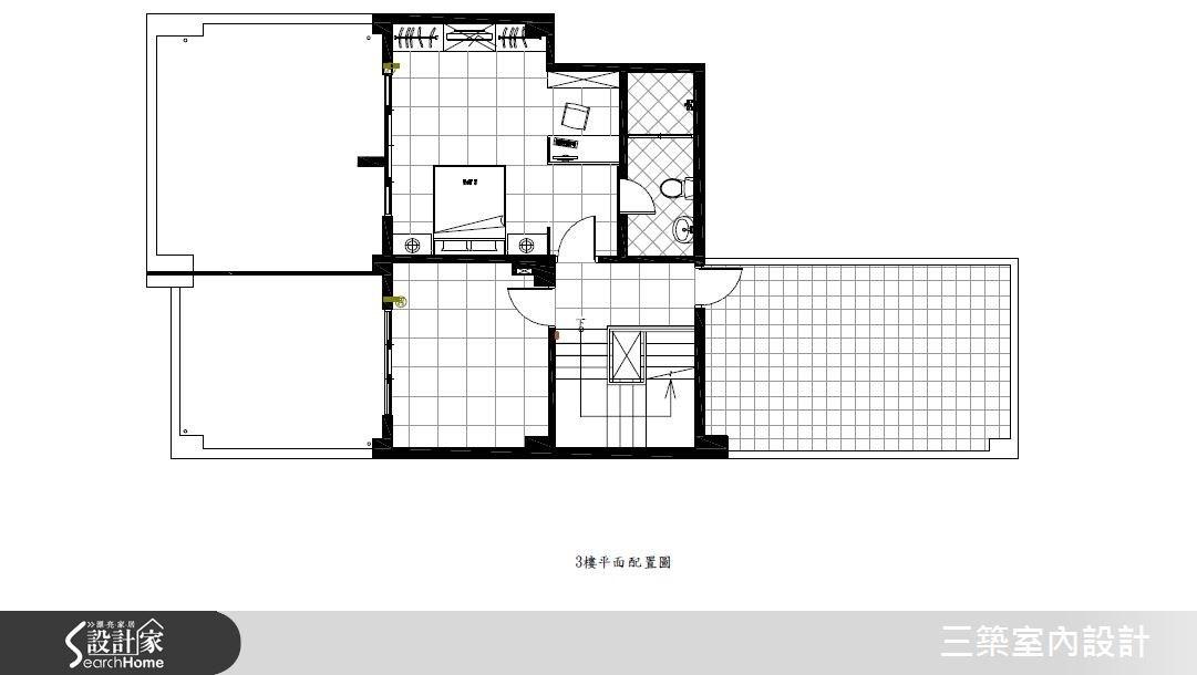 80坪新成屋(5年以下)_混搭風案例圖片_三築室內設計_三築_14之38