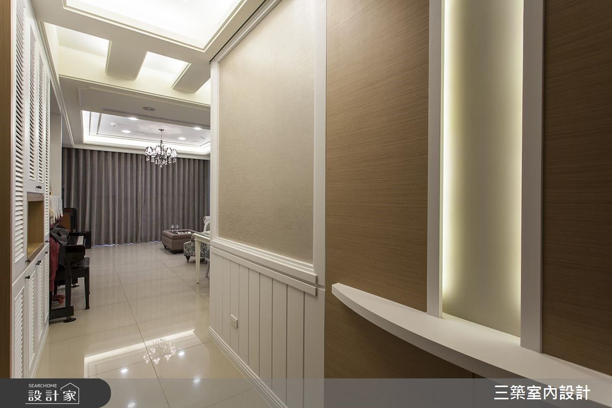 40坪新成屋(5年以下)_混搭風案例圖片_三築室內設計_三築_17之3