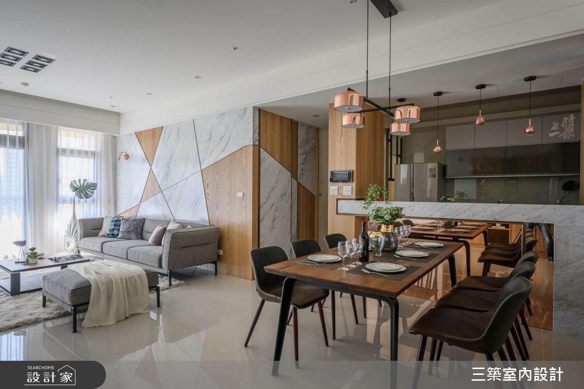 55坪新成屋(5年以下)_現代風案例圖片_三築室內設計_三築_18之3