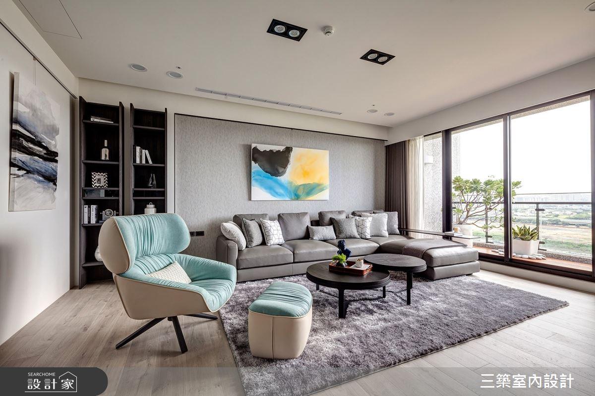 56坪新成屋(5年以下)_現代風案例圖片_三築室內設計_三築_19之3