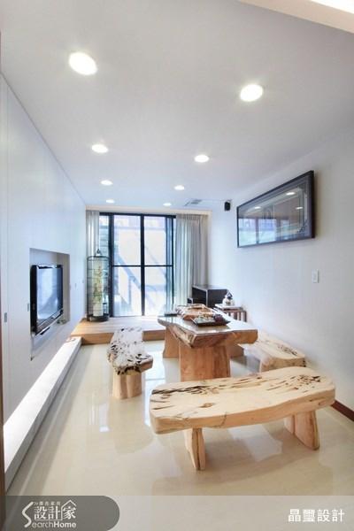 90坪新成屋(5年以下)_人文禪風案例圖片_晶璽國際設計_晶璽_07之3