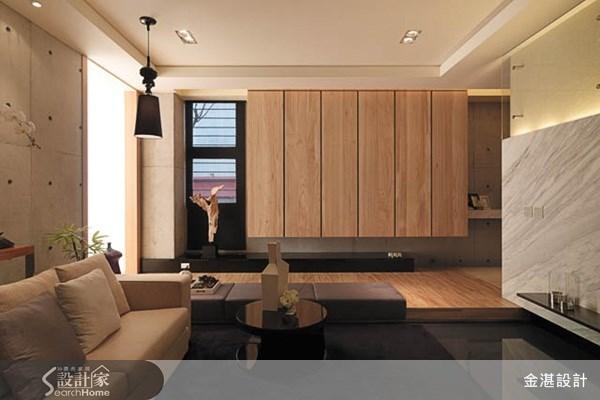 40坪新成屋(5年以下)_休閒風客廳案例圖片_金湛空間設計_金湛_01之1