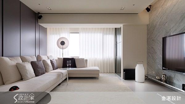 45坪中古屋(5~15年)_簡約風客廳案例圖片_金湛空間設計_金湛_05之5