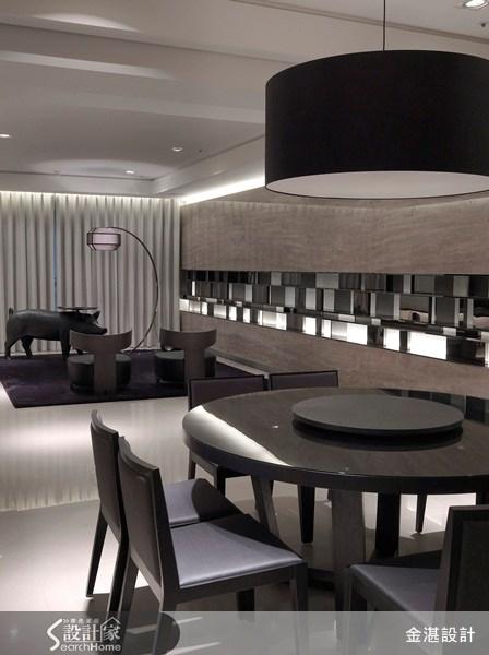 80坪預售屋_奢華風餐廳案例圖片_金湛空間設計_金湛_04之3