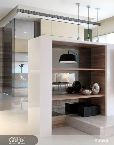 40坪新成屋(5年以下)_北歐風客廳案例圖片_金湛空間設計_金湛_02之2