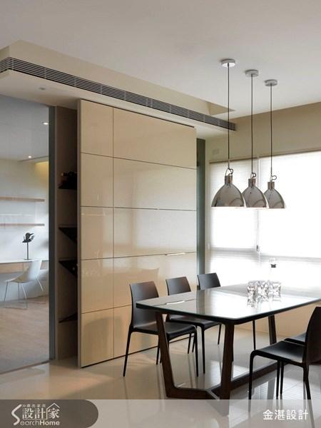 40坪新成屋(5年以下)_北歐風餐廳案例圖片_金湛空間設計_金湛_02之4