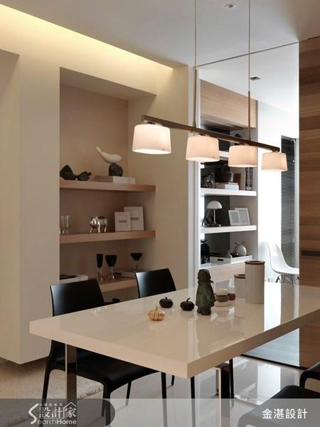 30坪新成屋(5年以下)_北歐風餐廳案例圖片_金湛空間設計_金湛_03之5
