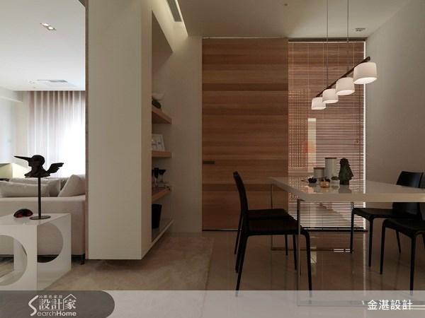 30坪新成屋(5年以下)_北歐風餐廳案例圖片_金湛空間設計_金湛_03之3