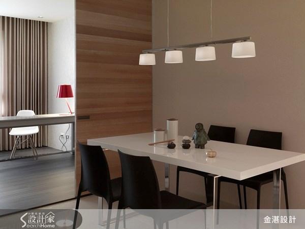 30坪新成屋(5年以下)_北歐風餐廳案例圖片_金湛空間設計_金湛_03之4